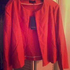 Coral lightweight blazer